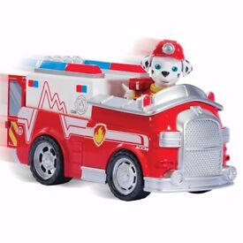 Paw Patrol Rescue Marshall Basic Vehicle & Character