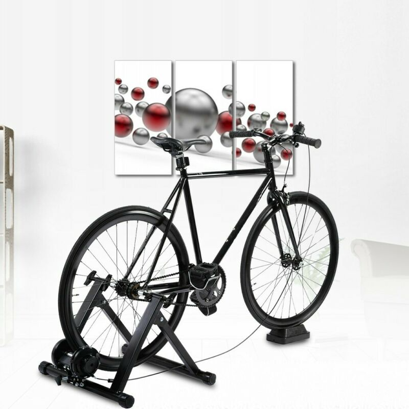Magnetic Bike Bicycle Trainer Indoor Stationary Exercise Steel