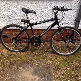 black raleigh mountain bike would very good condition