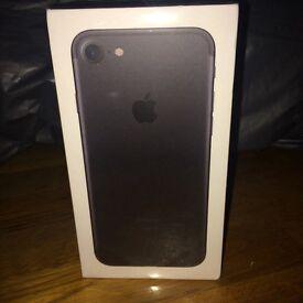Brand New & SEALED IPhone 7 Black 128GB