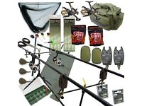 anything you need for carp,course fishing