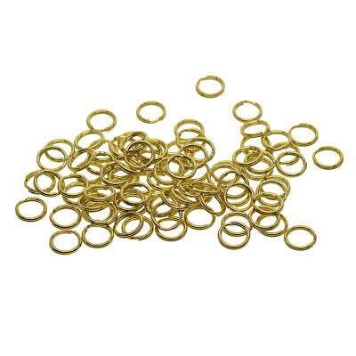 50 Pieces Split Brass Rings Small Key Rings Bulk Keychain Rings For Keys](Keychains Bulk)