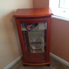 Rose wood display cabinet