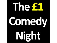 The £1 Comedy Night in ROTHERHAM Part of the Rotherham Comedy Festival