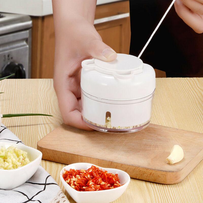 garlic grinder manual food chopper and shredder