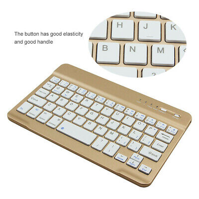 Slim Wireless Bluetooth Keyboard For IMac/IPad Android Phone Laptop Tablet PC