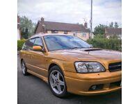 Stunning 1998 Subaru Legacy GT-B Twin Turbo - Rare Mustard Mica