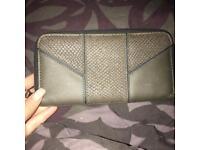 Khaki green purse