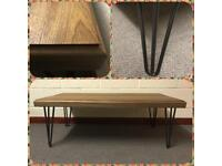 Coffee table/solid wood/hairpin legs/Home/Furniture/