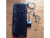 wireless keyboard and wired mouse logitech