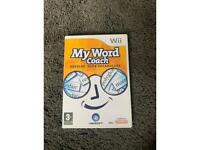 My word coach wii game