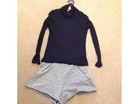 Girls M and S Jumper and Short set