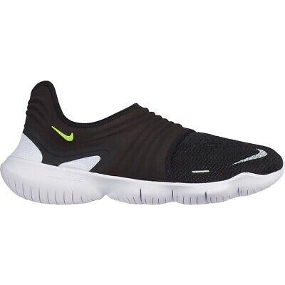 Nike Free RN Flyknit 3.0 ~ AQ5707 001 ~ Uk Size 7.5 Running Trainers Mens