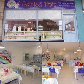 Pottery Painting Studio for Sale
