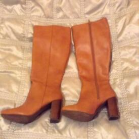 Tan next boots