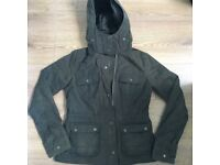 Abercrombie and Fitch waxed jacket