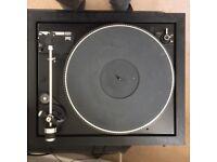 DUAL 505 - 2 TURNTABLE - GOOD WORKING ORDER plus LP TO DIGITAL CONVERTER KIT