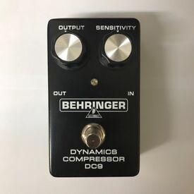 Behringer DC9 Dynamics Compressor Guitar Effects Pedal (MXR Dyna Comp Clone)