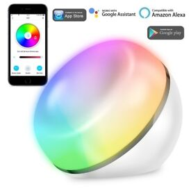 Dimmable LED Smart Light Table Lamp Works with Amazon Alexa & Google Muti-colour - AMAZON £34.99