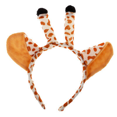 Giraffe Ears Headband Kids Animal Costume Cosplay Kids Adult Fancy Dress Up ()