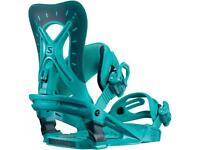 Ladies snowboard bindings
