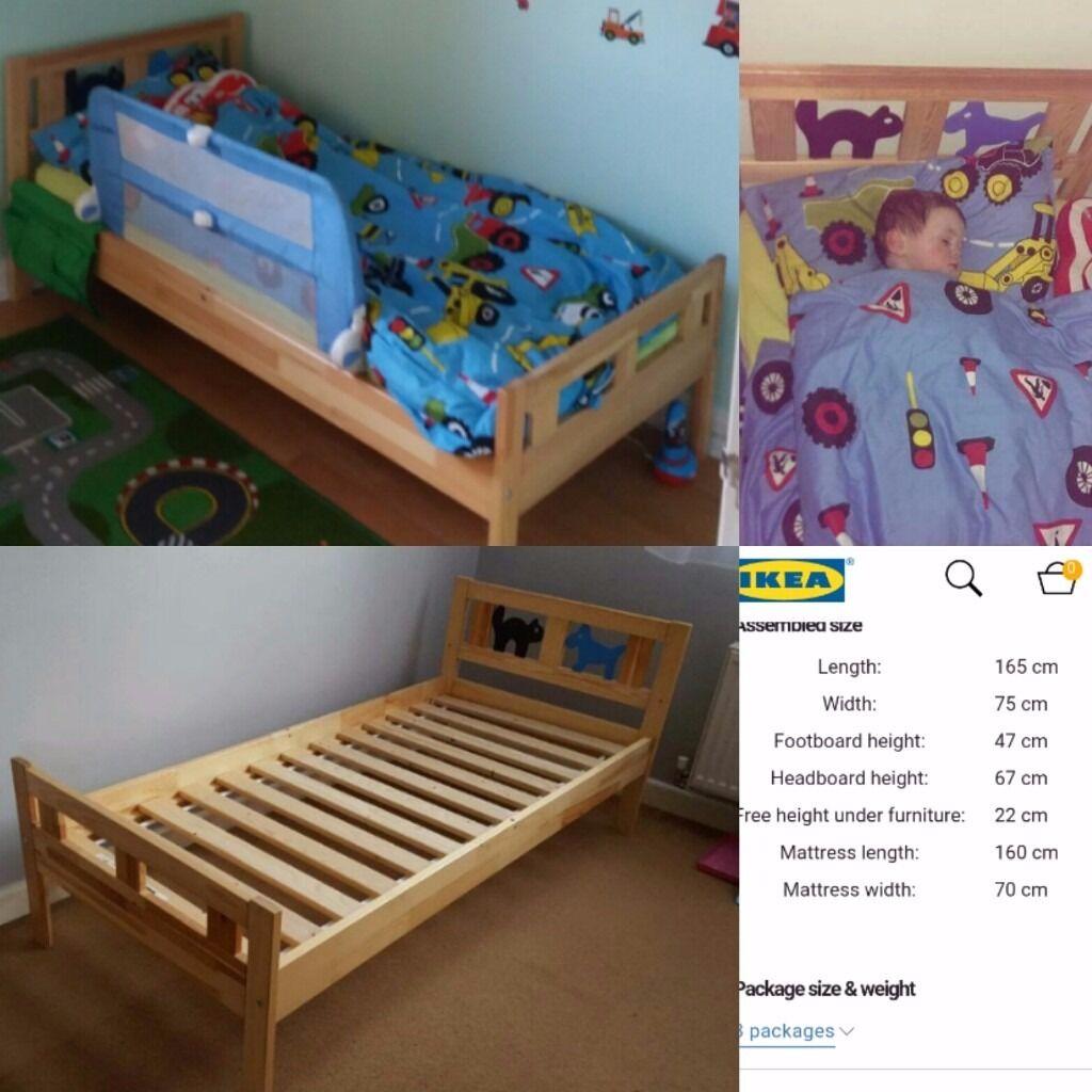 Ikea toddler bed kritter - Ikea Toddler Bed Kritter Pine Unisex