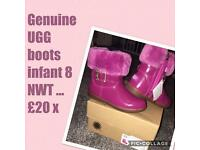 Genuine ugg boots infant 8 rrp £60 ❤️