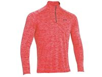 Under Armour Workout Layer Long Sleeve Top Training Gym Shirt size L (brand new)