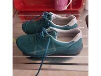 Hotter teal womans trainers