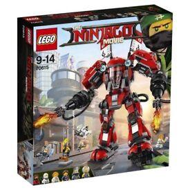 lego 70615 ninjago fire mech 2017 brand new