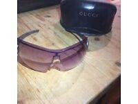 Gucci sunglasses and case