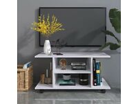 Modern TV Cabinet Stand Storage Shelves Table