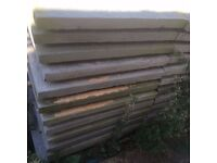 82 Blue Lias flagstones 2ft x 2ft collection from NW10 Offers Accepted