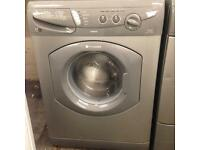 Silver hotpoint Washing machine £60