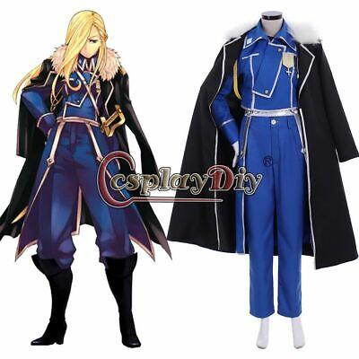 Fullmetal Alchemist Olivier Mira Armstrong Cosplay costume adult costume