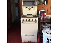 Late 50's vintage free standing cooker free to good home