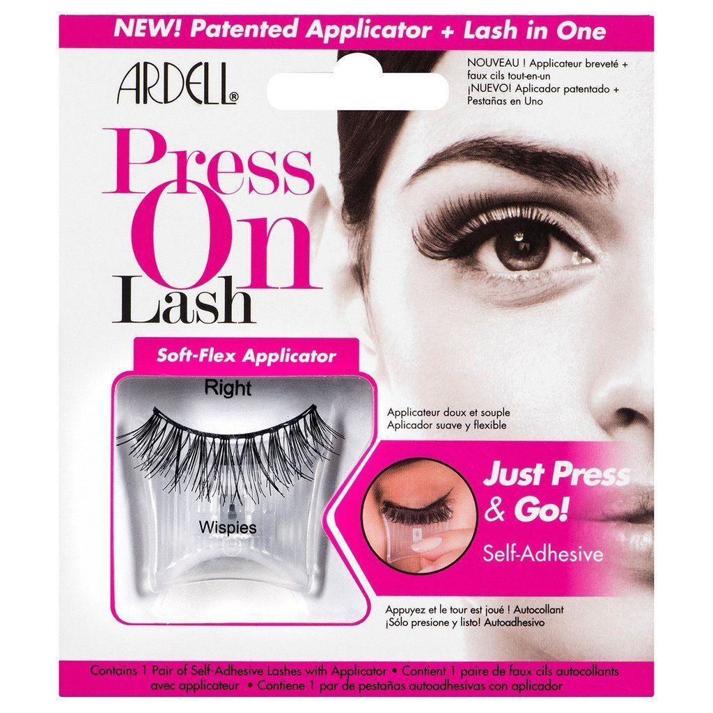 91c4cb76fae 2 X Ardell Press on Lash Wispies Strip Lashes & Applicator | False ...