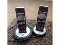 BT Twin Cordless Telephone Answering Machine
