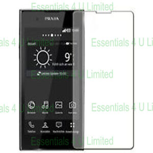 LG Prada 3 / 3.0 / P940 CLEAR screen protector x10 ( 10 pack ) HIGH QUALITY