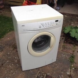 Zanussi front-loader washing machine. 1200 Hydrosystem. 5Kg load