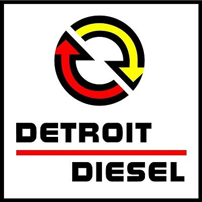 Detroit Diesel Logo Decal Vinyl Sticker 4 Stickers