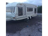 Roma caravan special 19ft average condition though out 5 berth 1993