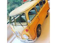 VW Volkswagen Camper Van metal model