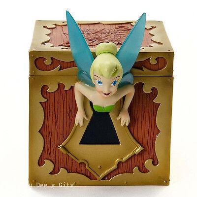 DISNEY Showcase Tinker Bell Treasure Chest Peter Pan 4017926 Mother's Day NIB