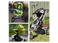 Quinny Buggy Travel Set with Maxi Cosi Car Seat