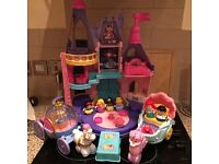 Fisher price- Disney castle and vehicle