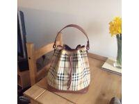 Real Burberry bag