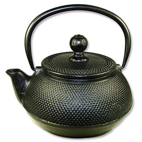 Japanese Style Cast Iron Tea Pot (INCLUDES FILTER) - BLACK COLOR - NEW**