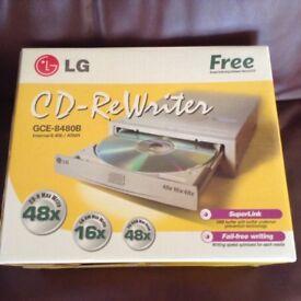 LG CD - ReWriter GCE - 8480B