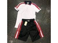 Gucci short and shirt